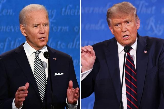 Bầu cử Mỹ 2020: Biden chiếm ưu thế ở màn so găng lần hai với ông Trump - 1