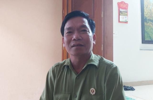 Ông Đặng Minh Tuấn, Chủ tịch Hội Cựu chiến binh phường Điện Biên, thành phố Thanh Hóa chia sẻ về Thượng tá Hoàng Mai Vui.