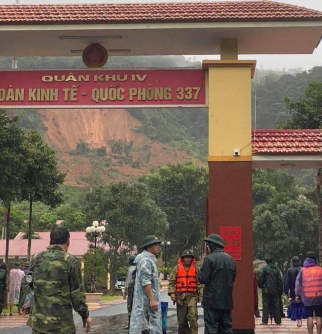 Quảng Trị: Lở núi ở đơn vị quốc phòng, 22 cán bộ, chiến sĩ bị vùi lấp - 4