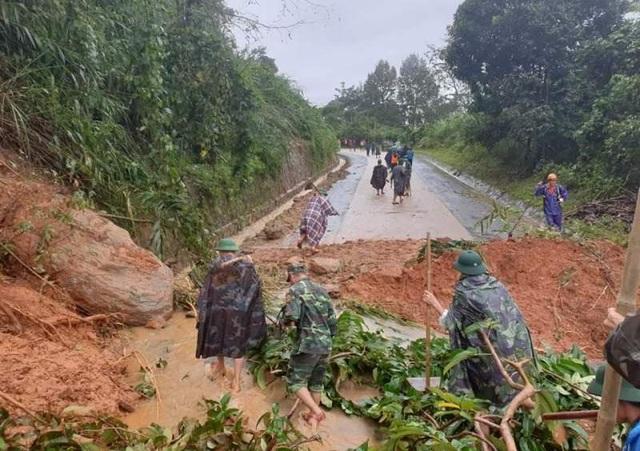 Hiện trường vụ lở núi kinh hoàng vùi lấp 22 cán bộ, chiến sĩ tại Quảng Trị - 15