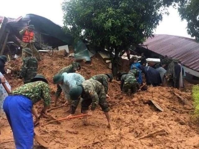 Hiện trường vụ lở núi kinh hoàng vùi lấp 22 cán bộ, chiến sĩ tại Quảng Trị - 11