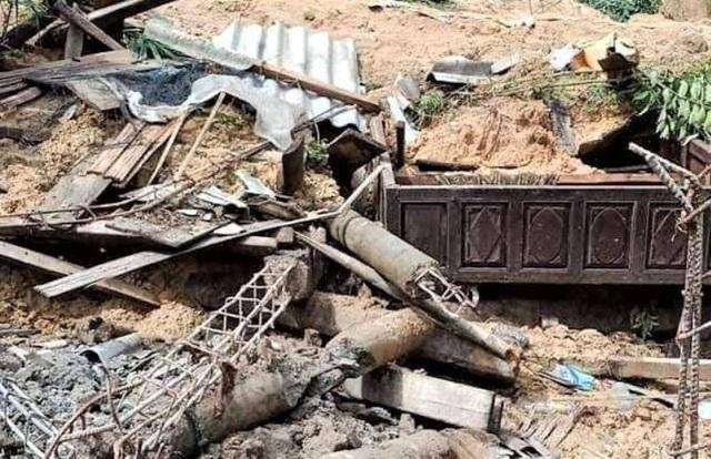 Hiện trường vụ lở núi kinh hoàng vùi lấp 22 cán bộ, chiến sĩ tại Quảng Trị - 16