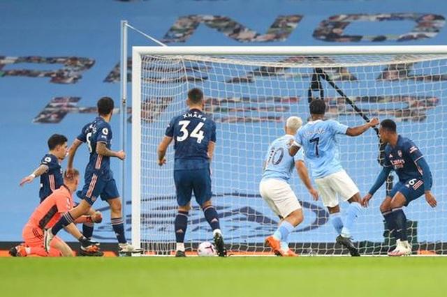 Man City 1-0 Arsenal: Sterling mang tới sự khác biệt - 1