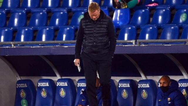 Barcelona thua sốc Getafe, HLV Ronald Koeman nổi nóng vì bị chọc tức - 2