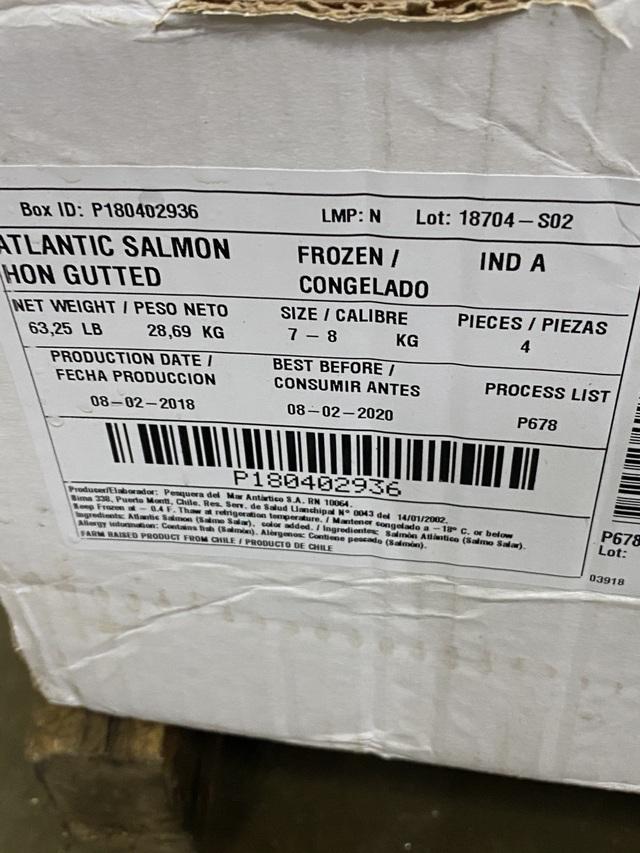 Phát hiện 2,5 tấn cá hồi hết hạn sử dụng sắp tuồn ra thị trường - 5