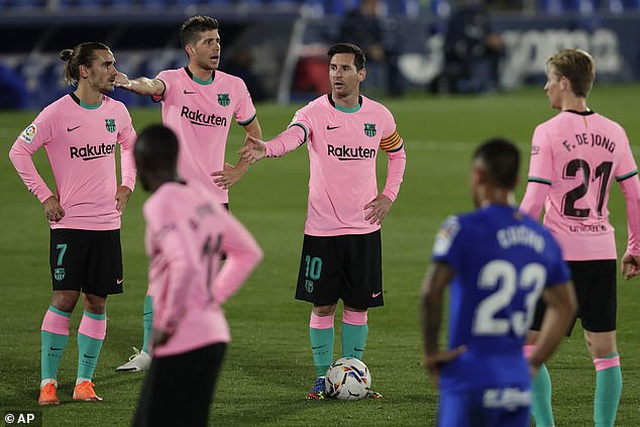 Barcelona gục ngã đau đớn trên sân của Getafe - 3