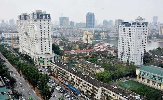 Hà Nội tạm dừng quy hoạch khu chung cư cũ Giảng Võ - 1
