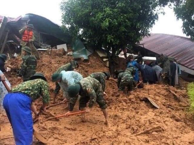 Tìm thấy thi thể 3 trong số 22 người mất tích vì lở núi tại Quảng Trị - 1