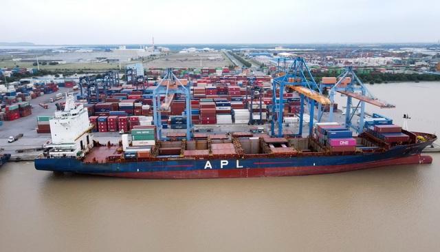 Đoàn tàu đầu tiên tuyến đường sắt Nhổn - ga Hà Nội cập cảng Hải Phòng - 1