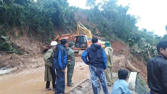 Hiện trường vụ lở núi kinh hoàng vùi lấp 22 cán bộ, chiến sĩ tại Quảng Trị - 13