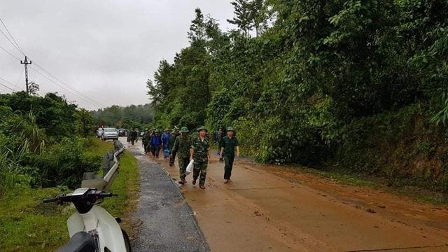 Hiện trường vụ lở núi kinh hoàng vùi lấp 22 cán bộ, chiến sĩ tại Quảng Trị - 1