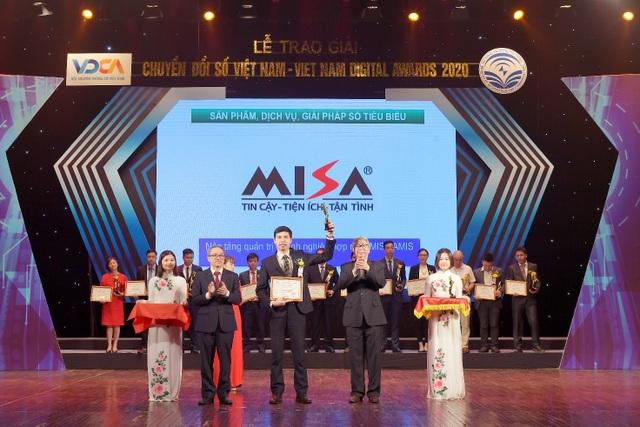 Giải thưởng Chuyển đổi số 2020 tôn vinh nền tảng quản trị doanh nghiệp của MISA - 1