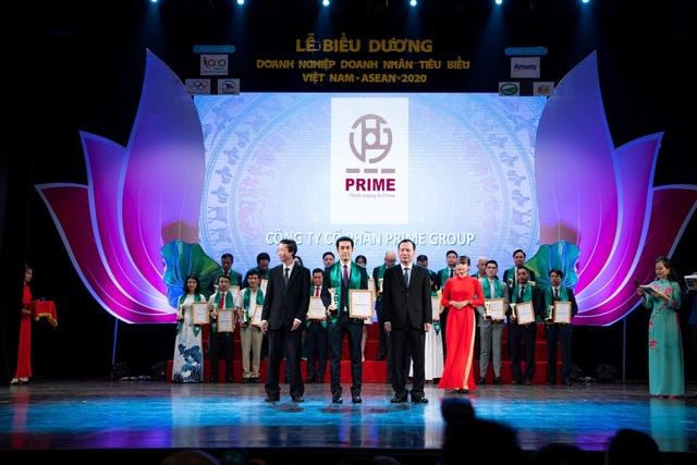 Prime Group nhận giải thưởng 'Doanh nghiệp tiêu biểu Việt Nam - ASEAN 2020' - 1
