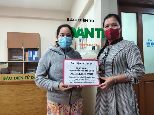 Hơn 74 triệu đồng của bạn đọc giúp đỡ bé gái bị ung thư tuyến giáp - 1