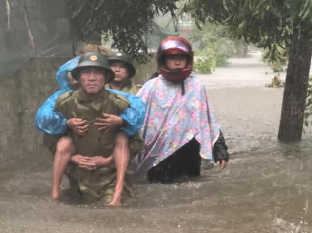 Hình ảnh lũ Quảng Bình vượt mức lịch sử năm 1979 - 8