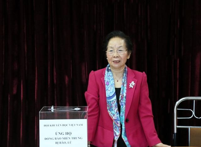 Hội Khuyến học Việt Nam phát động quyên góp ủng hộ đồng bào vùng lũ - 2