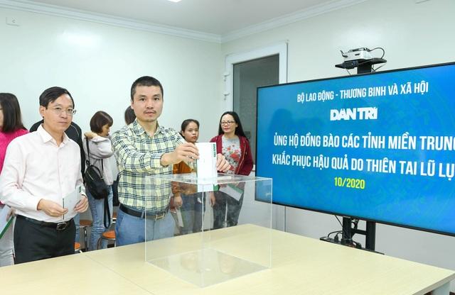 Bạn đọc Dân trí tiếp tục chung tay tái thiết cuộc sống người dân miền Trung - 1