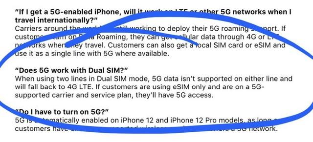 iPhone 12 không hỗ trợ 5G nếu dùng 2 SIM - 2