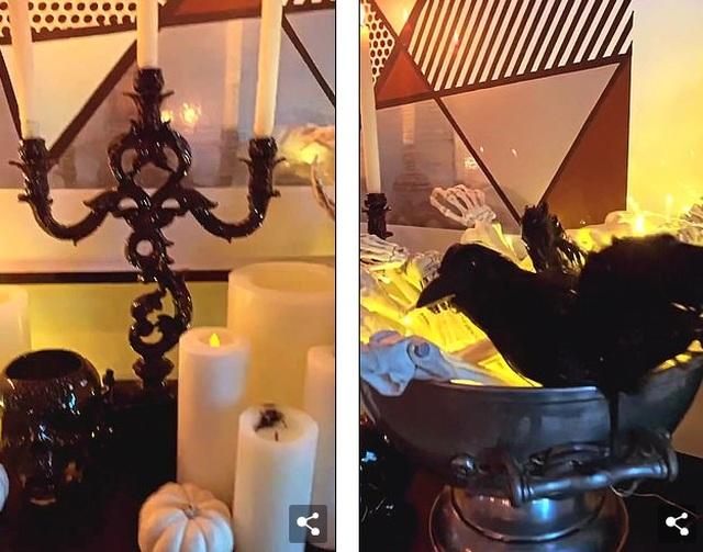 Kourtney Kardashian trang trí nhà theo kiểu kinh dị - 2