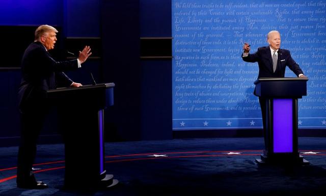 Bầu cử Mỹ 2020: Trump, Biden sẽ bị tắt micro khi đối thủ tranh luận - 1