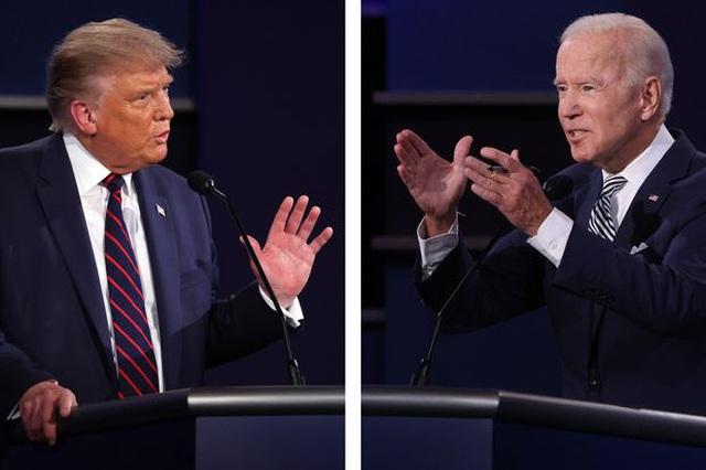 Bầu cử Mỹ 2020: Ông Trump sẽ xét nghiệm Covid-19 trước cuộc tranh luận cuối - 1