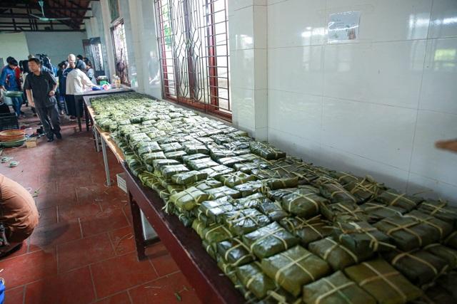 Gói 10.000 bánh chưng chay gửi vào miền Trung - 11
