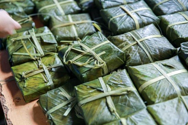 Gói 10.000 bánh chưng chay gửi vào miền Trung - 9