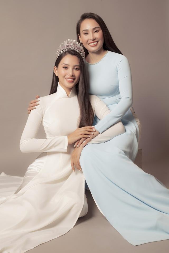 Hoa hậu Trần Tiểu Vy: Người phụ nữ đẹp nhất chính là mẹ - 7