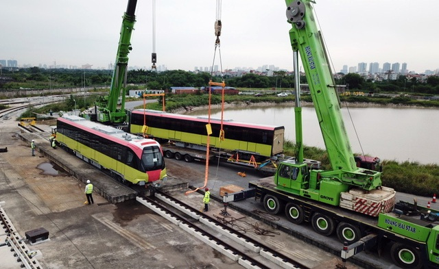 Đoàn tàu Nhổn - ga Hà Nội đã về đích - 5