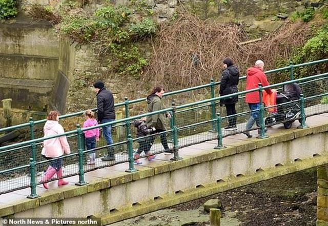 Cách nhau cây cầu, bên này giãn cách xã hội, nửa kia thoải mái giao lưu - 2