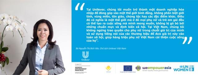 Unilever Việt Nam hỗ trợ phụ nữ trên toàn quốc cải thiện cuộc sống - 2
