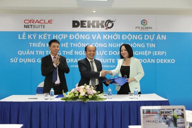 DEKKO triển khai hệ thống công nghệ thông tin quản trị tổng thể nguồn lực doanh nghiệp - 1
