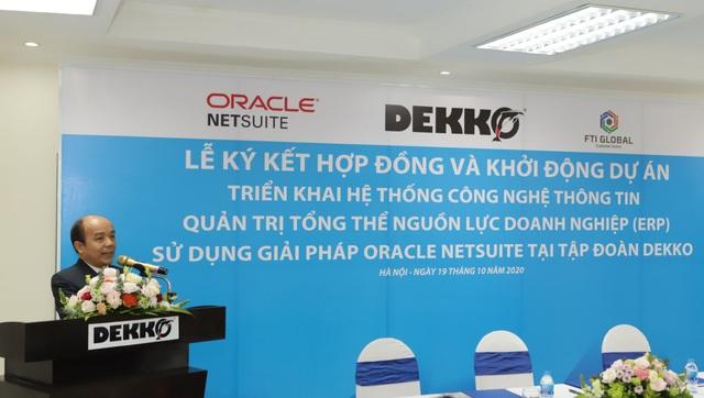 DEKKO triển khai hệ thống công nghệ thông tin quản trị tổng thể nguồn lực doanh nghiệp - 2