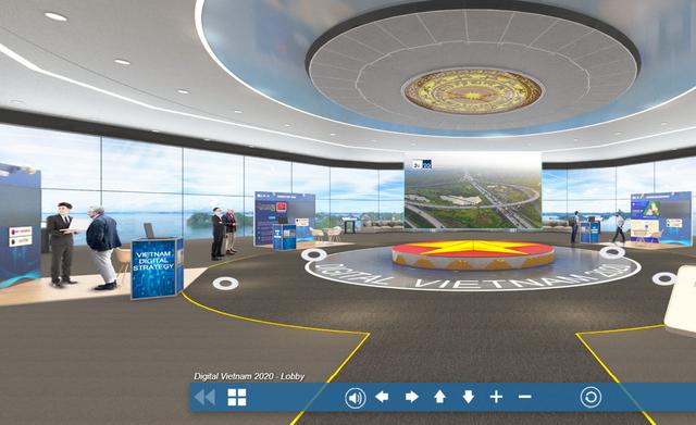Trải nghiệm gian hàng 3D của Việt Nam tại ITU Digital World 2020 - 1