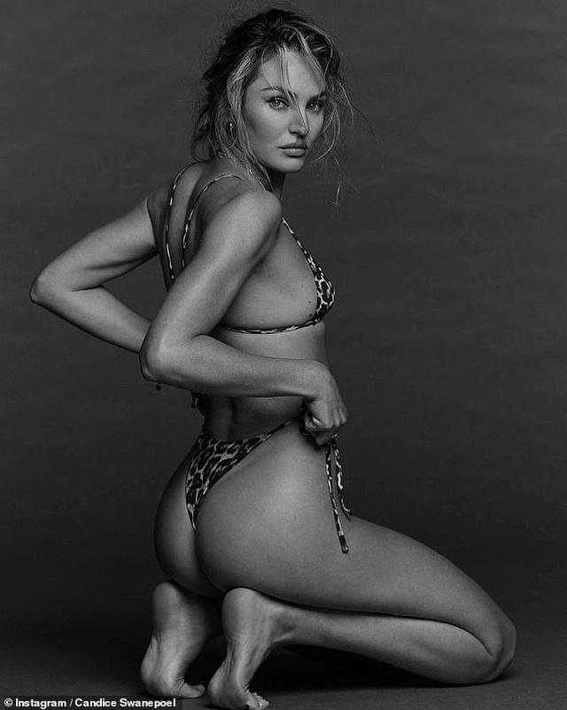 Ngưỡng mộ eo thon của siêu mẫu hai con Candice Swanepoel - 1