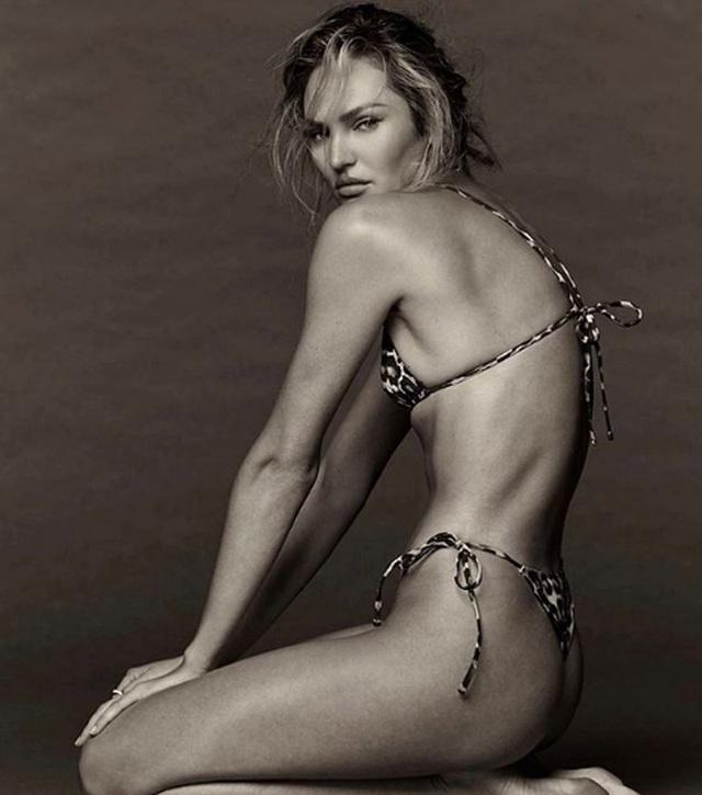 Ngưỡng mộ eo thon của siêu mẫu hai con Candice Swanepoel - 2