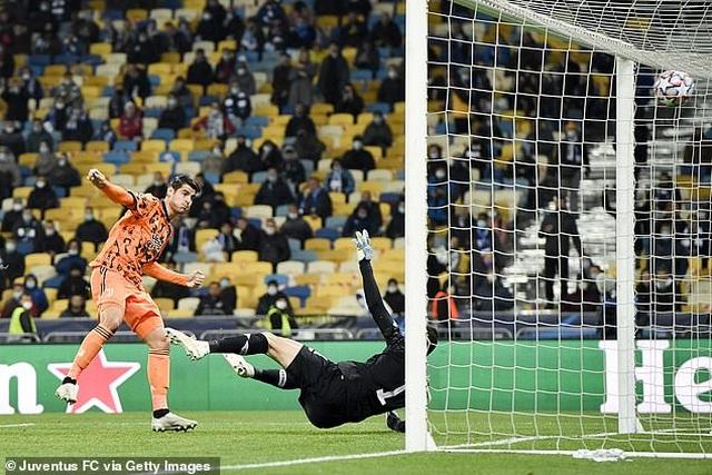 Morata lập cú đúp, Juventus giành chiến thắng trên sân của Dynamo Kiev - 4