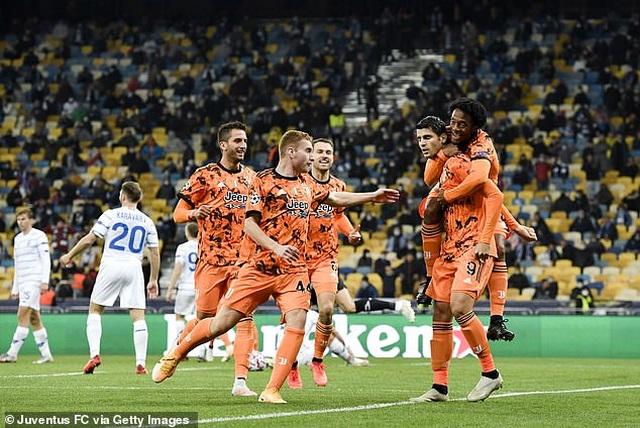 Morata lập cú đúp, Juventus giành chiến thắng trên sân của Dynamo Kiev - 5