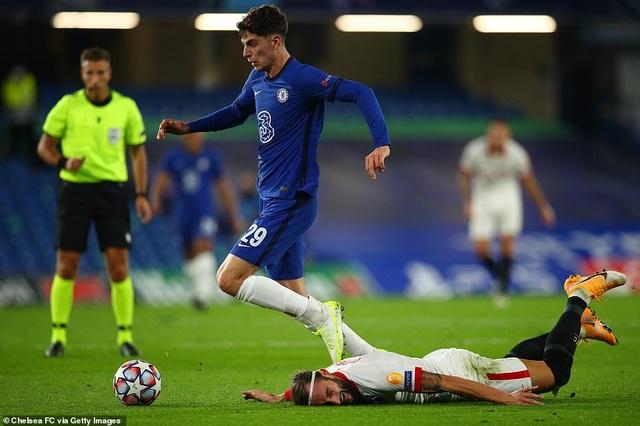 Hàng công gây thất vọng, Chelsea bị Sevilla cầm chân trên sân nhà - 4