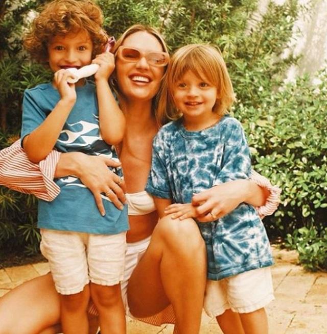 Ngưỡng mộ eo thon của siêu mẫu hai con Candice Swanepoel - 5