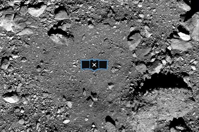 Tàu vũ trụ của NASA đã đổ bộ xuống tiểu hành tinh Bennu - 1