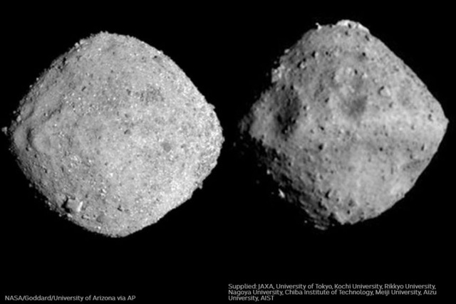 Tàu vũ trụ của NASA đã đổ bộ xuống tiểu hành tinh Bennu - 3