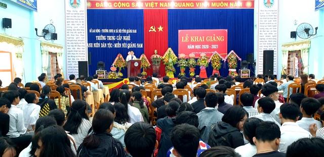 Quảng Nam: Đào tạo nghề có việc làm ngay cho thanh niên miền núi - 1