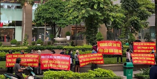 """UBND TPHCM ra """"tối hậu thư với chủ đầu tư dự án Tân Bình Apartment - 1"""