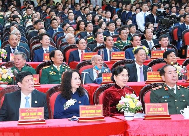Khai mạc Đại hội Đảng bộ tỉnh Ninh Bình lần thứ XXII - 2