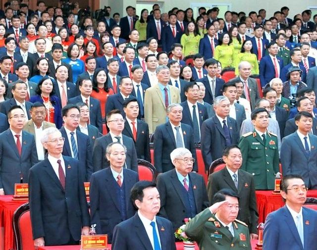 Khai mạc Đại hội Đảng bộ tỉnh Ninh Bình lần thứ XXII - 3