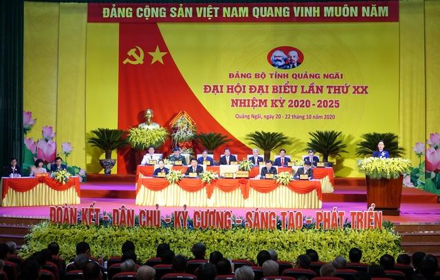 Khai mạc Đại hội đại biểu Đảng bộ tỉnh Quảng Ngãi lần thứ XX - 1