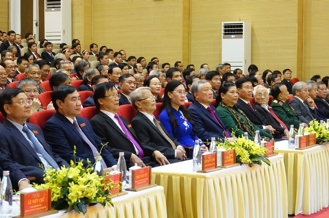 Khai mạc Đại hội đại biểu Đảng bộ tỉnh Quảng Ngãi lần thứ XX - 2