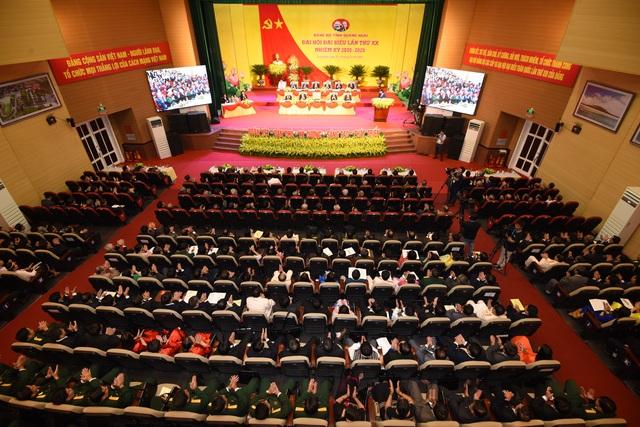 Khai mạc Đại hội đại biểu Đảng bộ tỉnh Quảng Ngãi lần thứ XX - 3