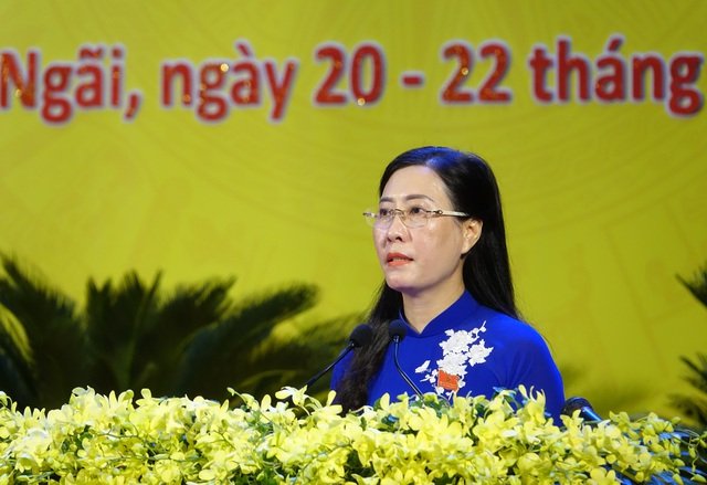 Khai mạc Đại hội đại biểu Đảng bộ tỉnh Quảng Ngãi lần thứ XX - 4